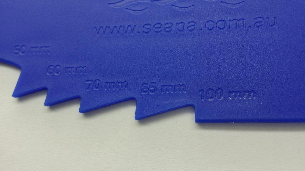 SEAPA Oyster Gauge - Detail